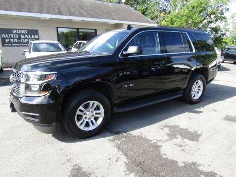 2015 Chevrolet Tahoe for sale at 2010 Auto Sales in Troy NY