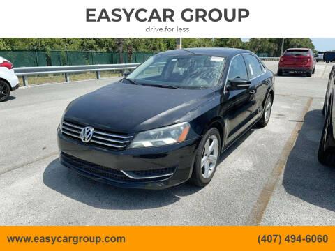 2013 Volkswagen Passat for sale at EASYCAR GROUP in Orlando FL