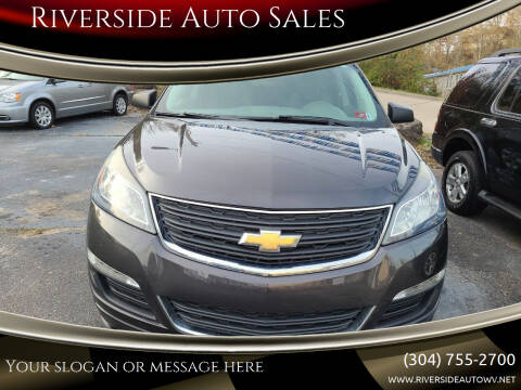 2014 Chevrolet Traverse for sale at Riverside Auto Sales in Saint Albans WV
