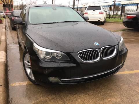 2010 BMW 5 Series for sale at TETCO AUTO SALES  / TETCO FUNDING in Dallas TX