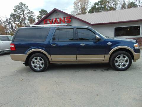 2013 Ford Expedition EL for sale at Evans Motors Inc in Little Rock AR