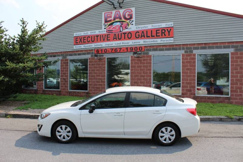 2016 Subaru Impreza for sale at EXECUTIVE AUTO GALLERY INC in Walnutport PA