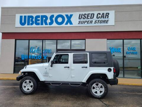 2012 Jeep Wrangler Unlimited for sale at Ubersox Used Car Superstore in Monroe WI