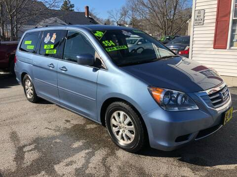 2008 Honda Odyssey for sale at Crown Auto Sales in Abington MA