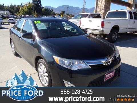 2014 Toyota Camry for sale at Price Ford Lincoln in Port Angeles WA