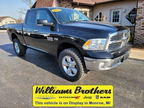 2015 RAM Ram Pickup 1500 for sale at Williams Brothers - Pre-Owned Monroe in Monroe MI