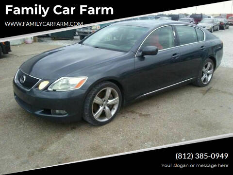 2006 Lexus GS 430 for sale at Family Car Farm in Princeton IN
