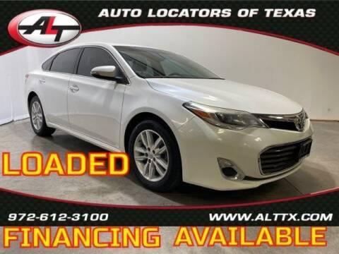 2015 Toyota Avalon for sale at AUTO LOCATORS OF TEXAS in Plano TX
