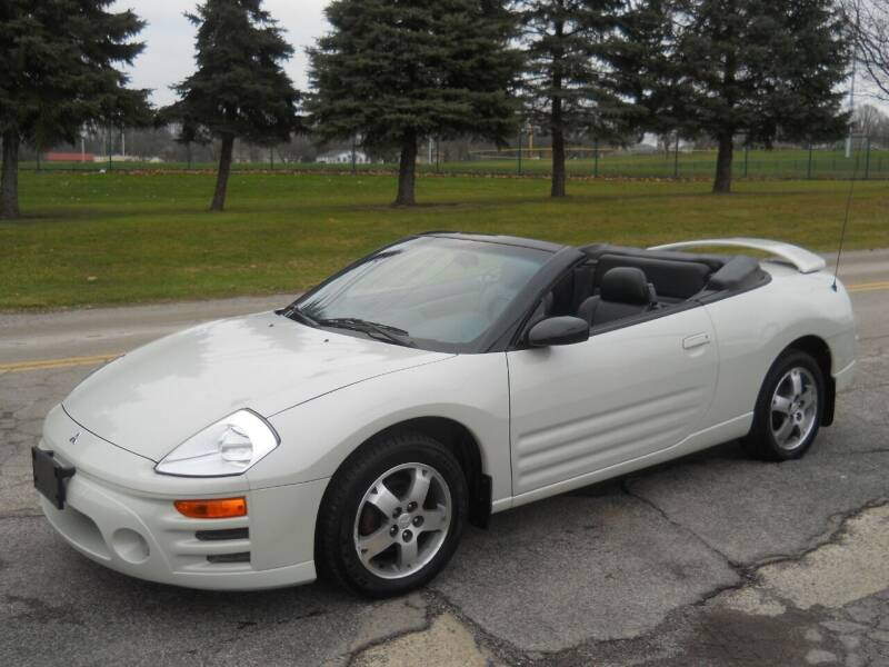 2003 Mitsubishi Eclipse Spyder for sale at Hern Motors in Hubbard OH