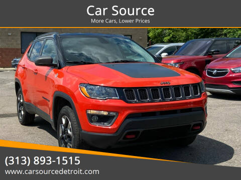 2018 Jeep Compass for sale at Car Source in Detroit MI