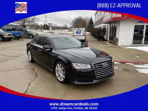 2016 Audi A8 L for sale at Great Lakes Auto Superstore in Waterford Township MI