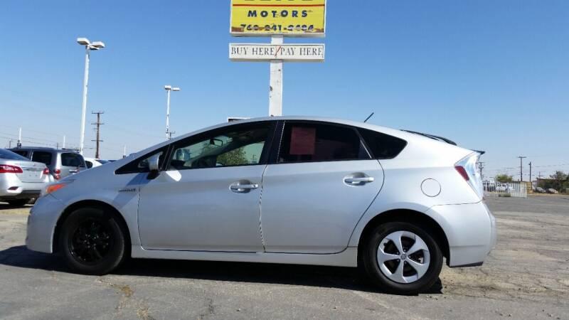 2015 Toyota Prius for sale at ELITE MOTORS in Victorville CA