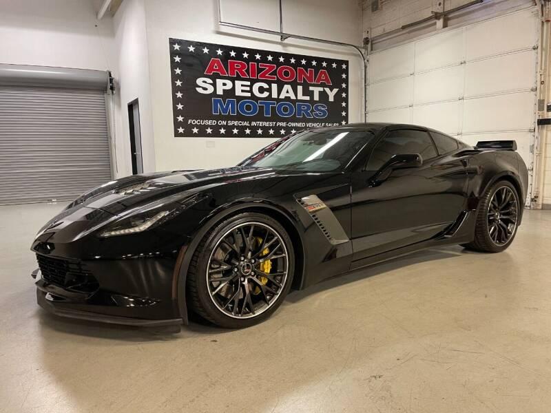 2015 Chevrolet Corvette for sale at Arizona Specialty Motors in Tempe AZ