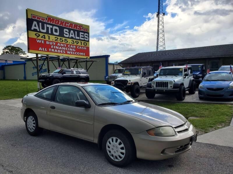 2003 Chevrolet Cavalier for sale in Port Charlotte, FL