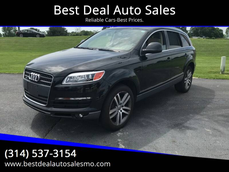 2008 Audi Q7 for sale at Best Deal Auto Sales in Saint Charles MO