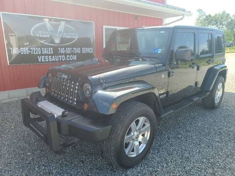 2012 Jeep Wrangler Unlimited for sale at Vess Auto in Danville OH