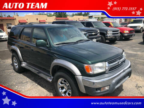 2002 Toyota 4Runner for sale at AUTO TEAM in El Paso TX