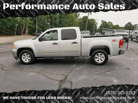 2010 GMC Sierra 1500 for sale at Performance Auto Sales in Hickory NC
