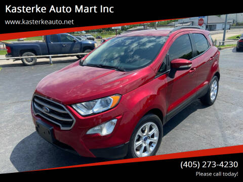2018 Ford EcoSport for sale at Kasterke Auto Mart Inc in Shawnee OK