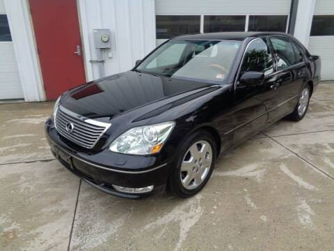 2004 Lexus LS 430 for sale at Lewin Yount Auto Sales in Winchester VA
