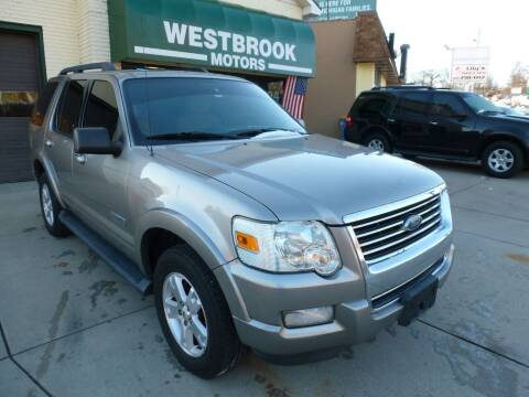 2008 Ford Explorer for sale at Westbrook Motors in Grand Rapids MI