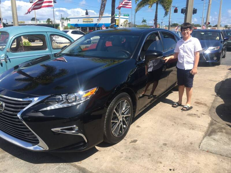 2016 Lexus ES 350 for sale at TOP TWO USA INC in Oakland Park FL
