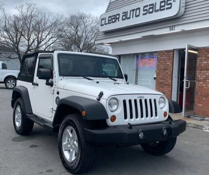 2007 Jeep Wrangler for sale at Clear Auto Sales 2 in Dartmouth MA