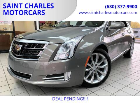 2017 Cadillac XTS for sale at SAINT CHARLES MOTORCARS in Saint Charles IL