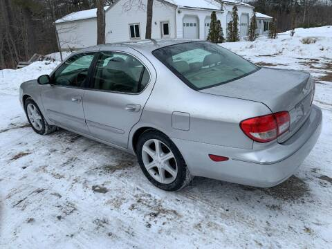 2002 Infiniti I35 for sale at GROVER AUTO & TIRE INC in Wiscasset ME