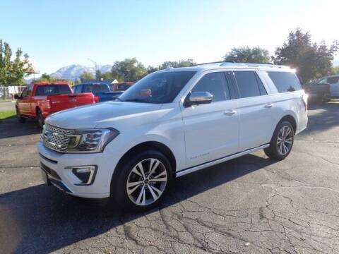 2021 Ford Expedition MAX for sale at State Street Truck Stop in Sandy UT
