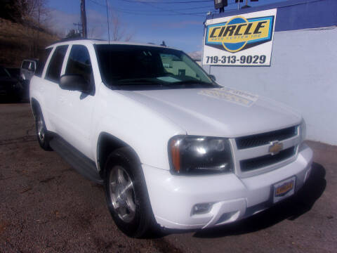 2008 Chevrolet TrailBlazer for sale at Circle Auto Center in Colorado Springs CO