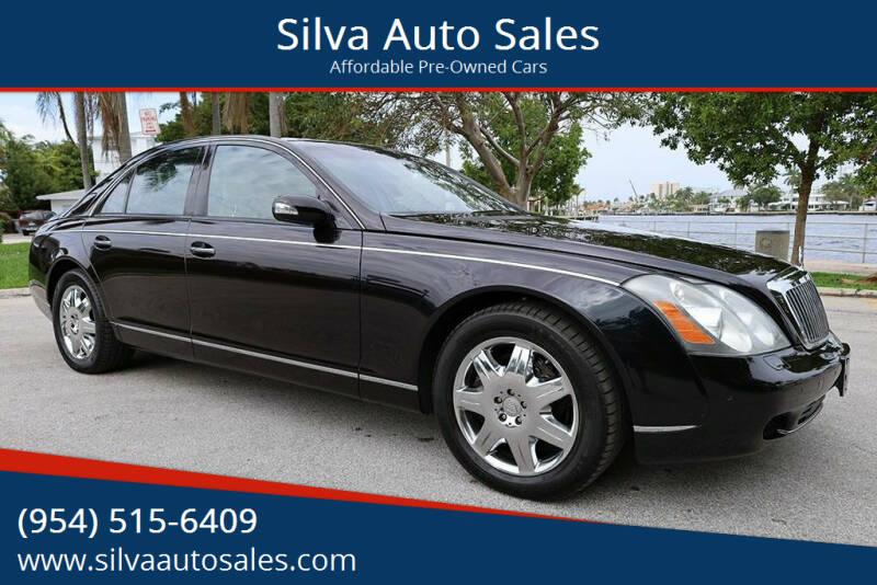 2005 Maybach 57 for sale at Silva Auto Sales in Pompano Beach FL