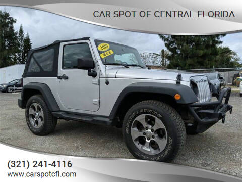 2010 Jeep Wrangler for sale at Car Spot Of Central Florida in Melbourne FL