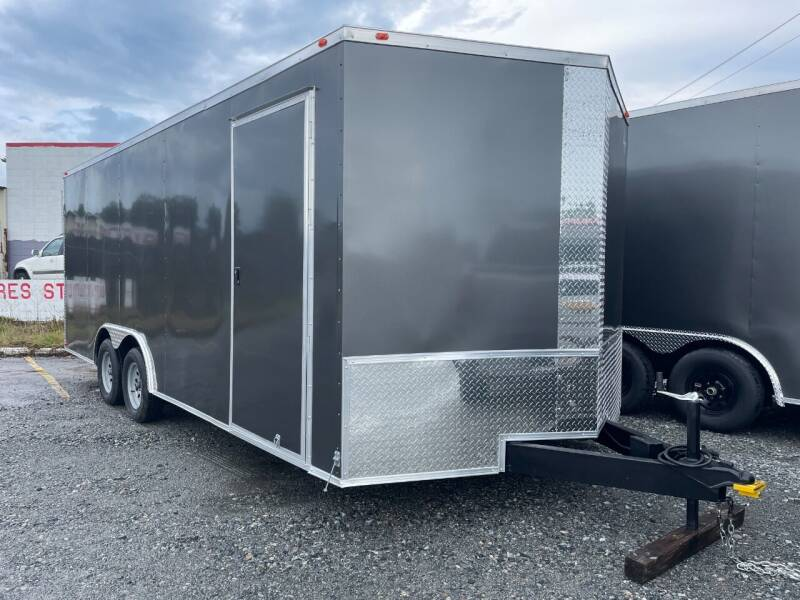 2021 8.5x20 Tandem Axle  Enclosed Cargo Trailer  for sale at Direct Connect Cargo in Tifton GA