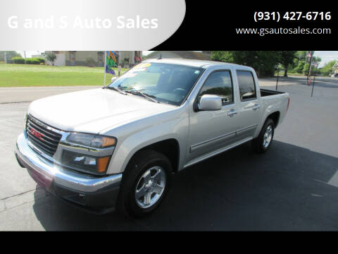 2010 GMC Canyon for sale at G and S Auto Sales in Ardmore TN