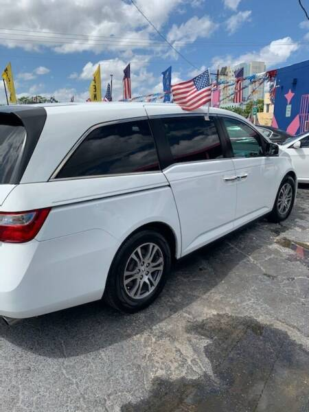 2012 Honda Odyssey EX-L 4dr Mini-Van - Miami FL