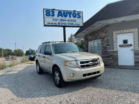 2008 Ford Escape for sale at 83 Autos in York PA