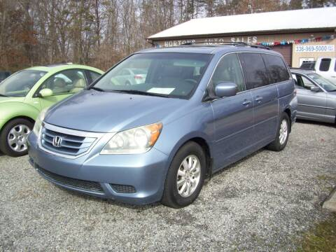 2008 Honda Odyssey for sale at Horton's Auto Sales in Rural Hall NC