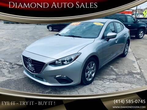 2015 Mazda MAZDA3 for sale at Diamond Auto Sales in Milwaukee WI