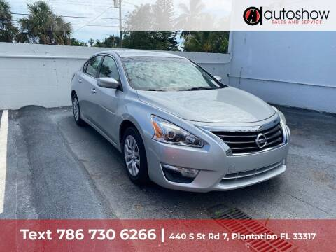2014 Nissan Altima for sale at AUTOSHOW SALES & SERVICE in Plantation FL