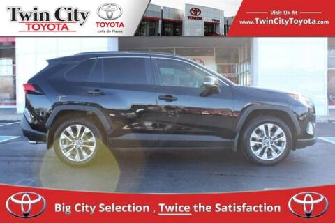 2019 Toyota RAV4 for sale at Twin City Toyota in Herculaneum MO