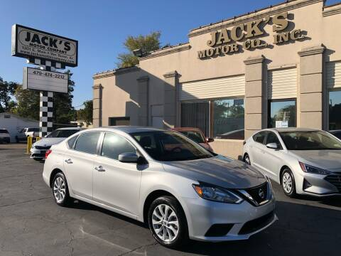 2019 Nissan Sentra for sale at JACK'S MOTOR COMPANY in Van Buren AR