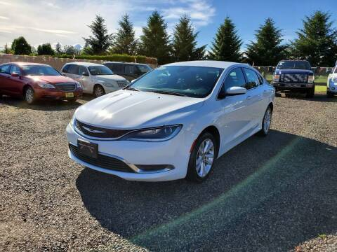 2015 Chrysler 200 for sale at McMinnville Auto Sales LLC in Mcminnville OR