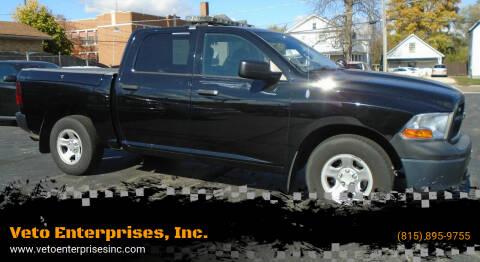 2012 RAM Ram Pickup 1500 for sale at Veto Enterprises, Inc. in Sycamore IL
