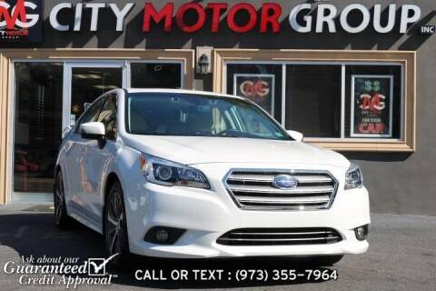2017 Subaru Legacy for sale at City Motor Group, Inc. in Wanaque NJ