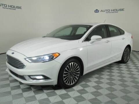 2017 Ford Fusion for sale at Curry's Cars Powered by Autohouse - Auto House Tempe in Tempe AZ