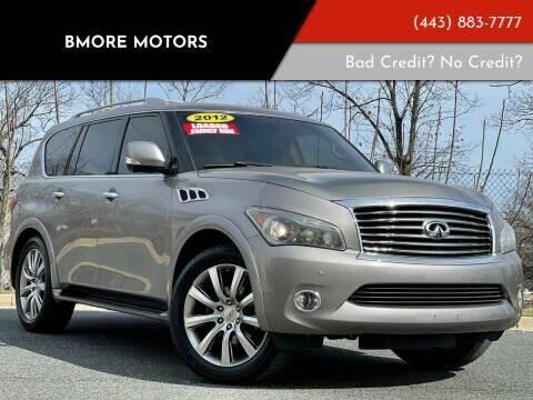 2012 Infiniti QX56 for sale at Bmore Motors in Baltimore MD