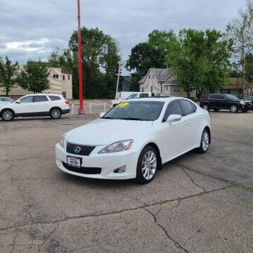 2010 Lexus IS 250 for sale at Bibian Brothers Auto Sales & Service in Joliet IL
