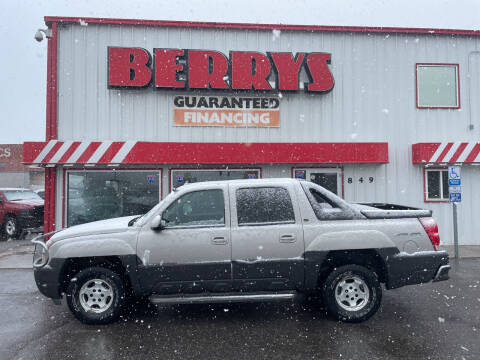 2006 Chevrolet Avalanche for sale at Berry's Cherries Auto in Billings MT