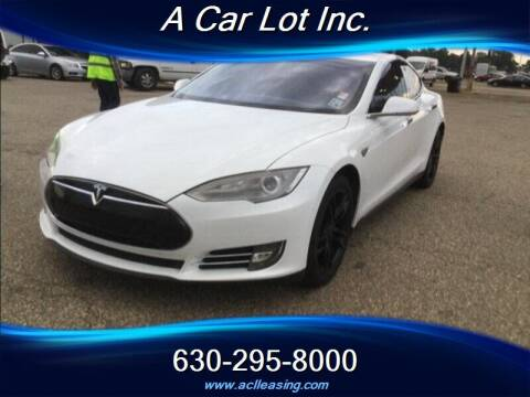 2012 Tesla Model S for sale at A Car Lot Inc. in Addison IL